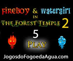 Jogos do Agua e Fogo 5 no Templo da Floresta 2