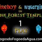 Clique Aqui para Jogar Agua e Fogo 1 templo da floresta
