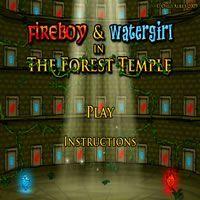 Jogos de Agua e Fogo 1 Templo da Floresta
